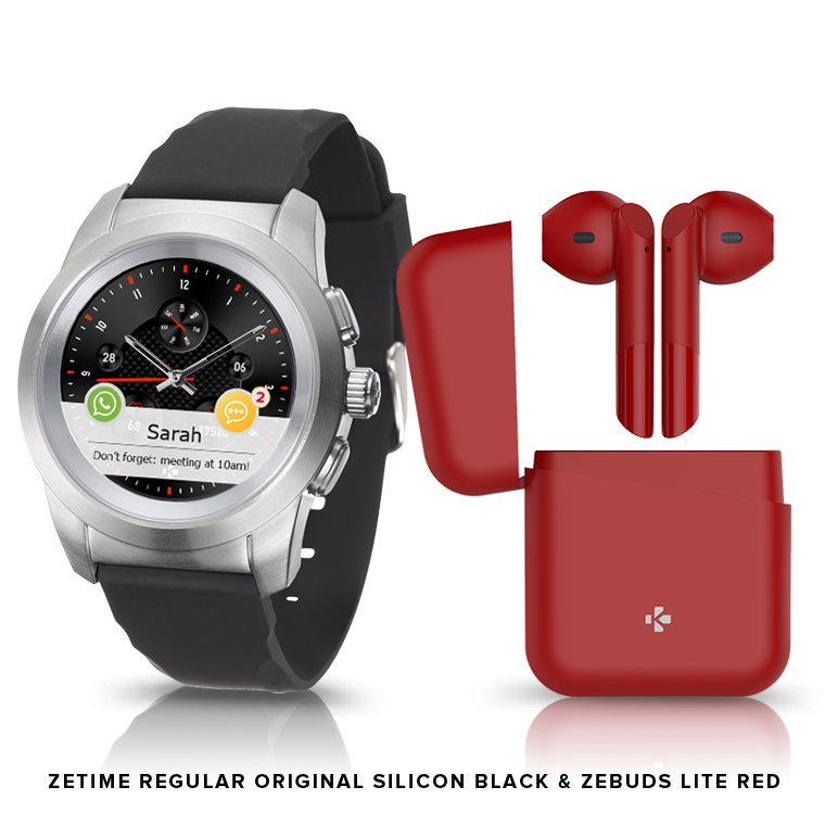 ZeTime & ZeBuds - Our hybrid smartwatch and new TWS Wireless Earbuds - MyKronoz