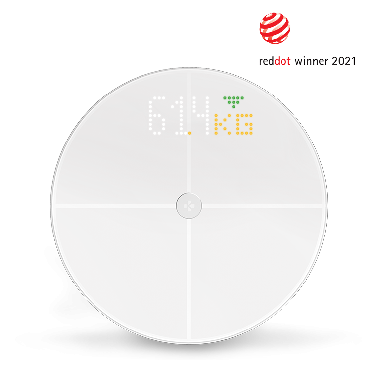 MyScale - WiFi scale with color display - MyKronoz