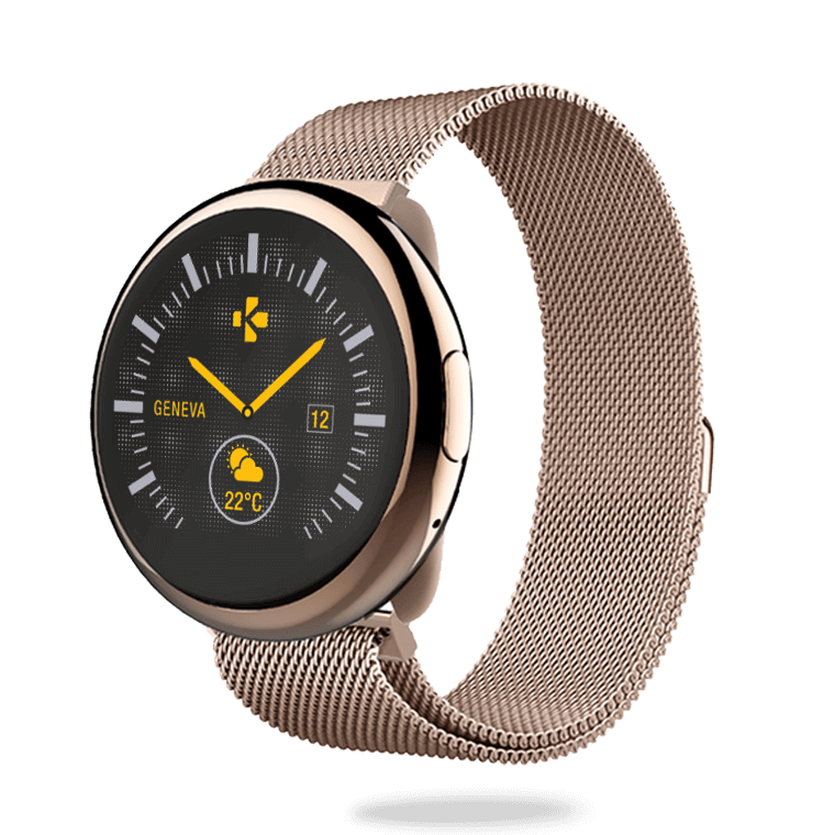 ZeRound2HR Elite - Elegant smartwatch with circular color touchscreen - MyKronoz