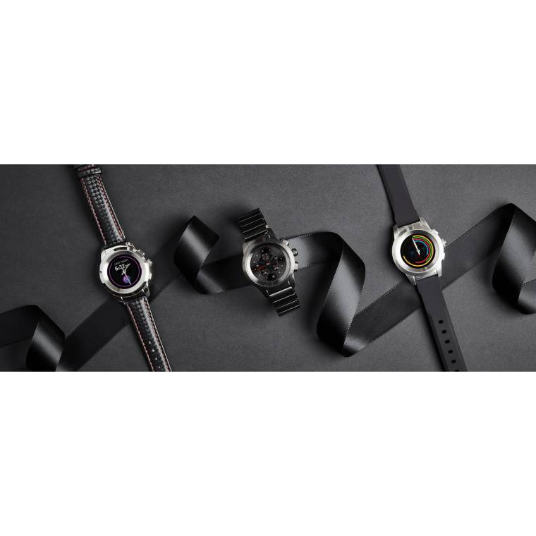 ZeTime - The world's first hybrid smartwatch combining mechanical hands with a round color touchscreen - MyKronoz