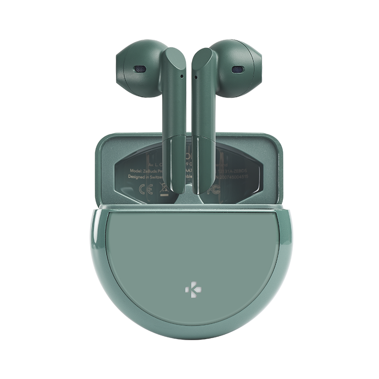 ZeBuds Pro - ZeBuds Pro - TWS Earbuds with wireless charging case - MyKronoz