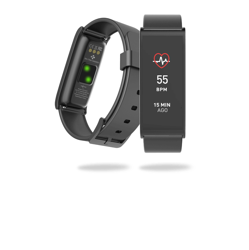 Activity trackers with optical heart rate sensor