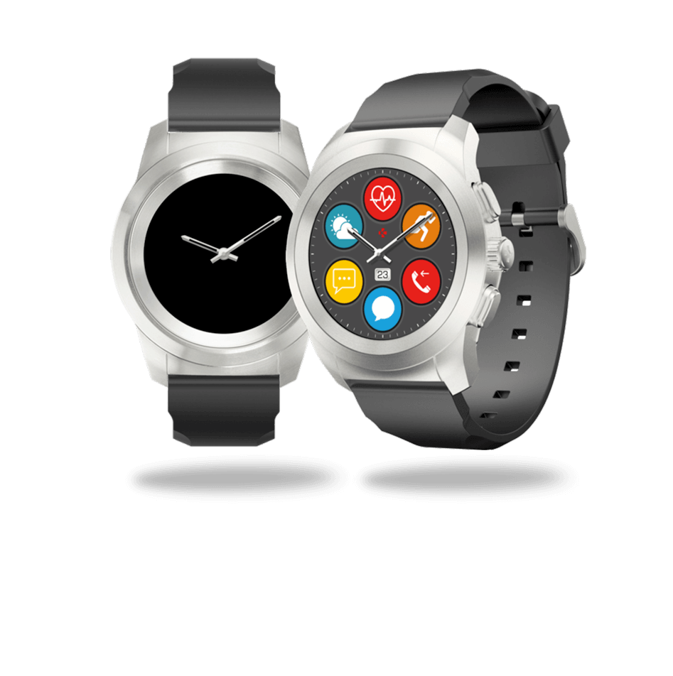 ZeTime smartwatch and watch mode