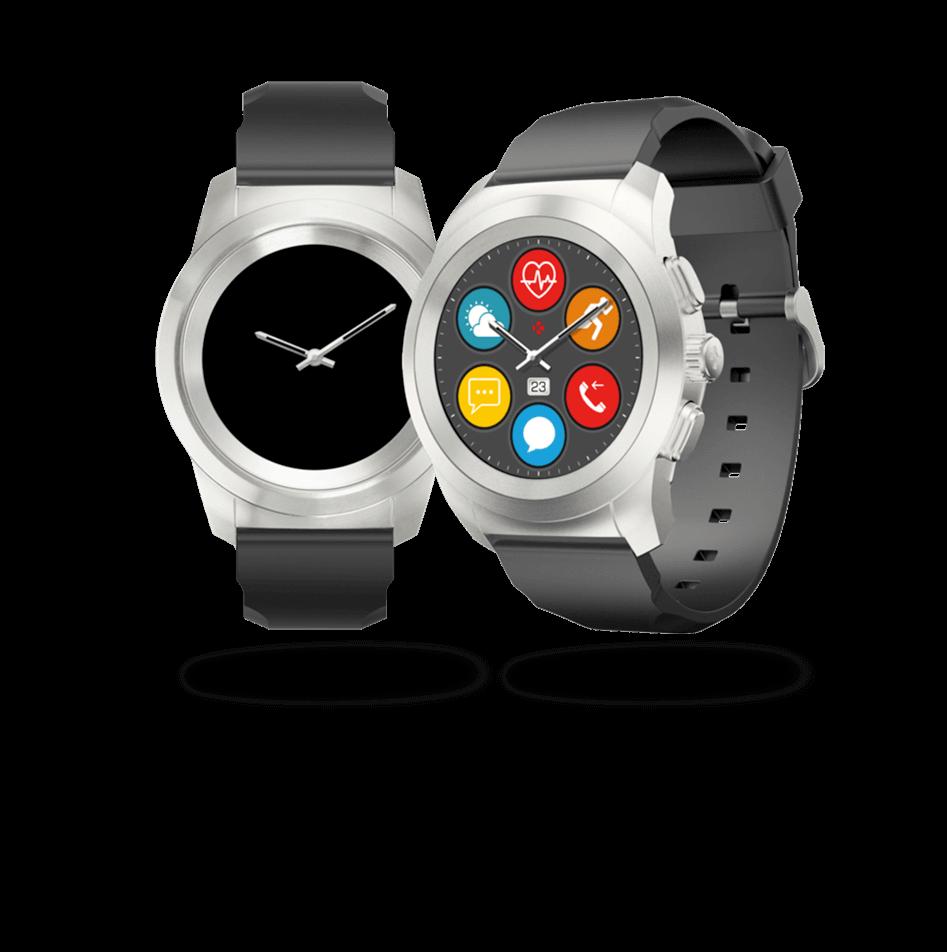 ZeTime smartwatch e modalità di visualizzazione
