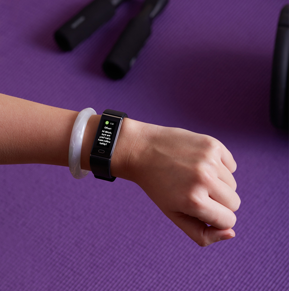Fashion Activity Tracker with sleek design to match your style